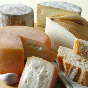 Assortment of Spanish cheese